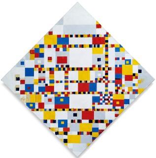 Piet Mondrian, Victory Boogie Woogie, 1944, incompiuto