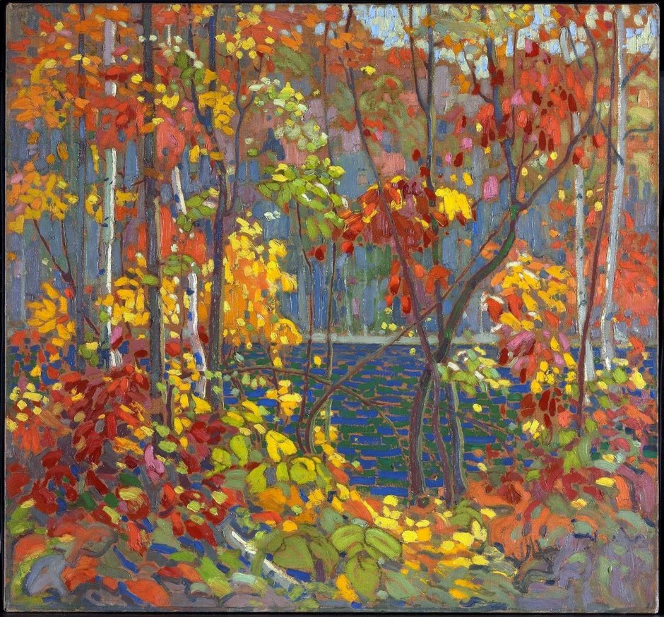 44_Tom Thomson, The Pool