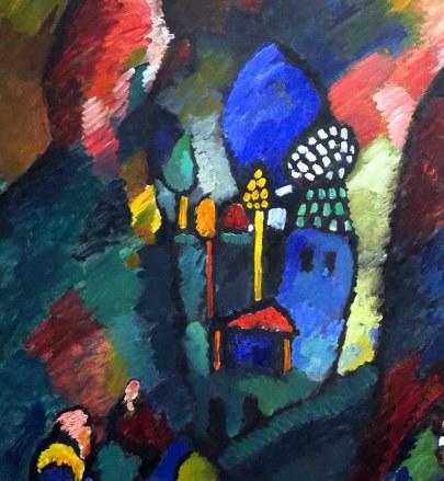 46_Vassily Kandinsky, Quadro con arciere, 1909-part2