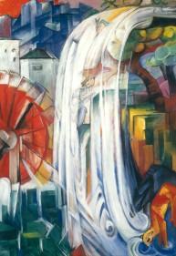 Franz Marc, Il mulino stregato, 1912