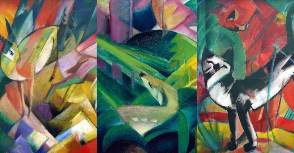 Un Salto Nella Foresta Gli Animali Nelle Opere Di Franz Marc La