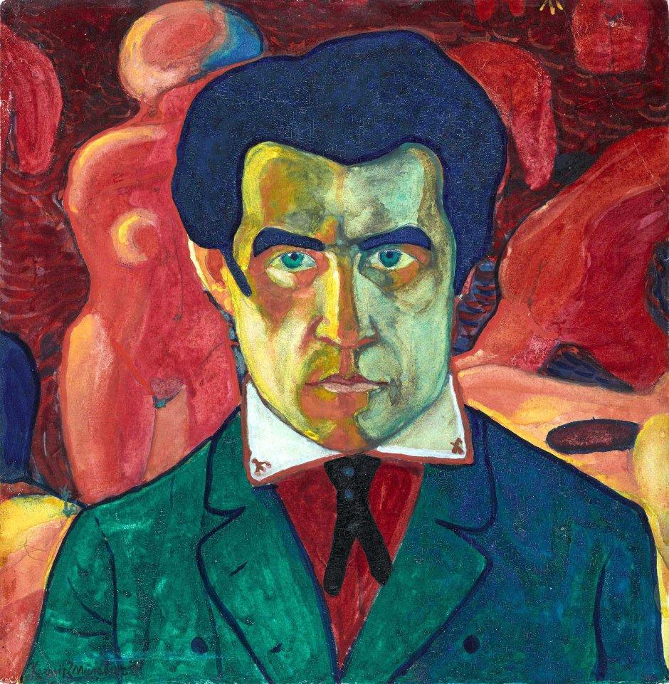 Kazimir Malevic, Autoritratto, 1908-11