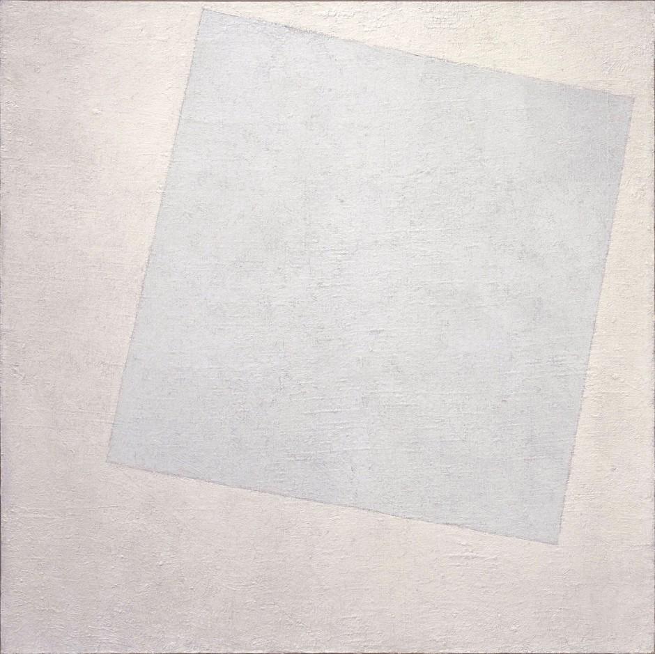Kazimir Malevic, Bianco su bianco, 1918