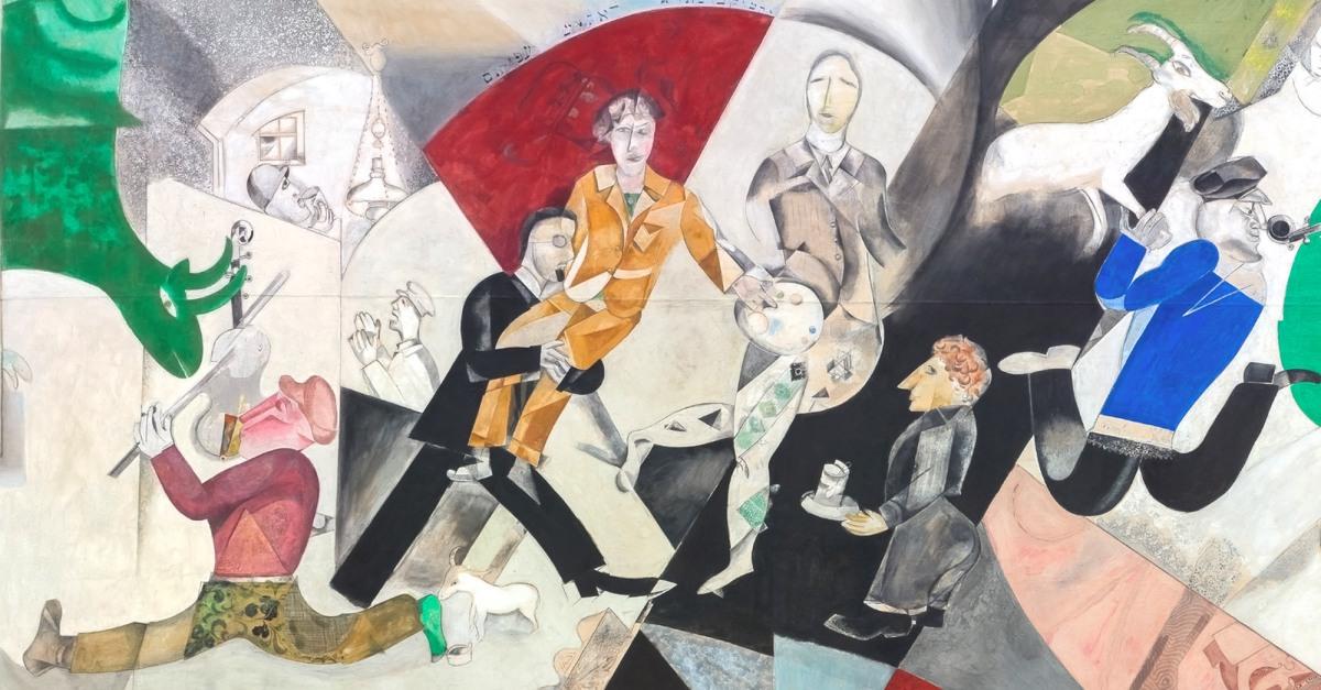 Tra avanguardia e tradizione: i teleri di Marc Chagall per il Teatro ebraico da camera di Mosca
