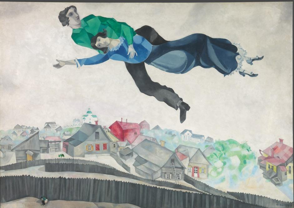 Marc Chagall_Sopra la città