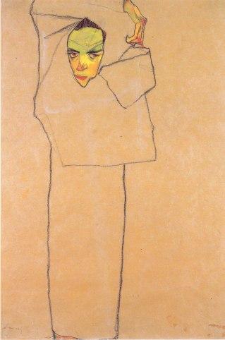 Egon Schiele, Autoritratto, 2, 1910