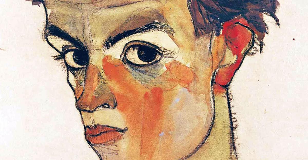 Come si vedeva Egon Schiele? Dodici autoritratti per scoprirlo