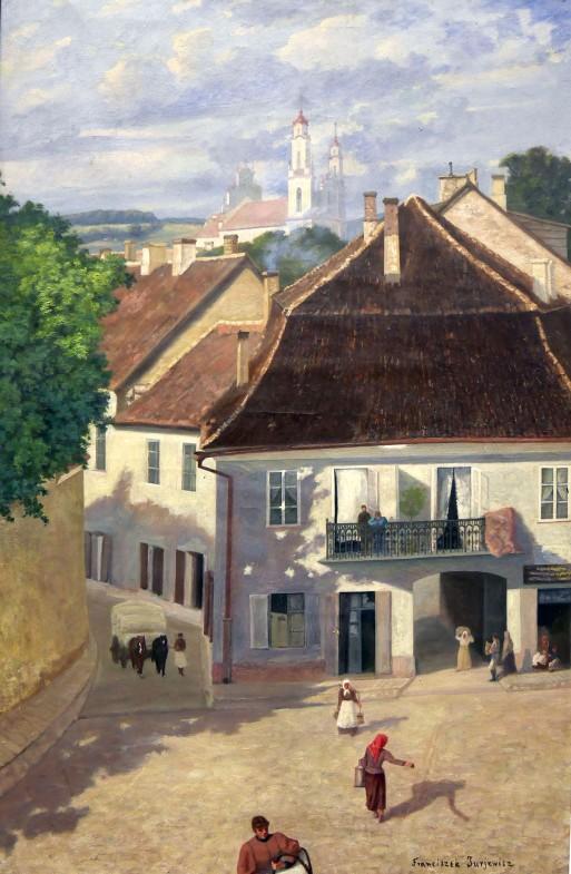 Franciszek Jurjewicz, Vilnius, Via Daukšos, 1896