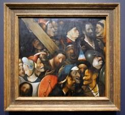 Hieronymus Bosch, Cristo che porta la croce, 1510-16