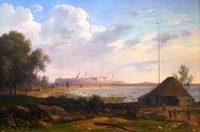 Ernst Hermann Schlichting, La vecchia stazione delle diligenze presso La Porta Nunne a Tallinn, 186