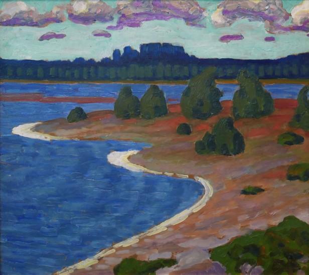 Konrad Mägi, Costa di Laulasmaa (Klooga), 1915-17
