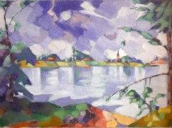Konrad Mägi, Lago Saadjärv, 1923-24