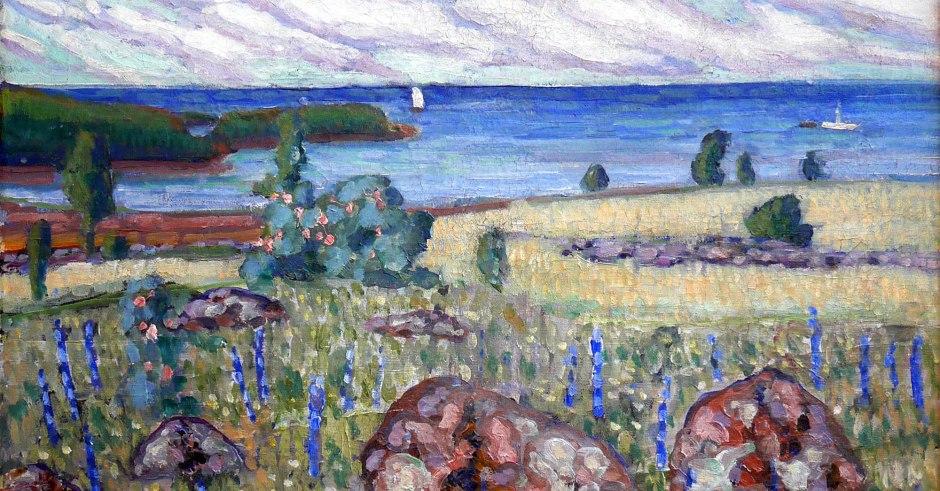 Konrad Mägi, Paesaggio, 1913-14 CUT