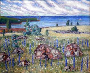 Konrad Mägi, Paesaggio, 1913-14