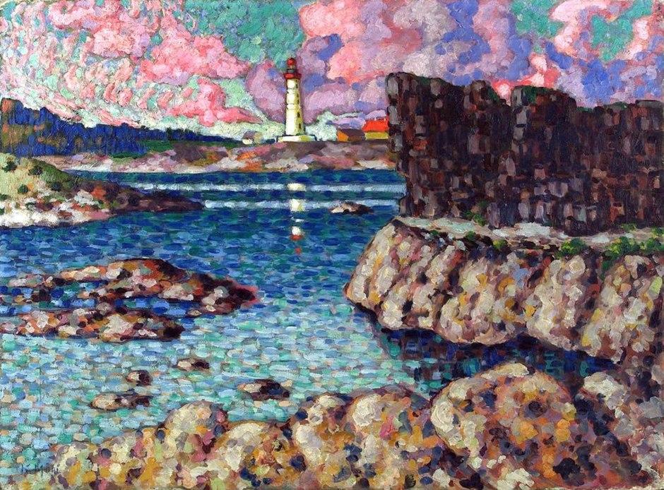 Konrad Mägi, Paesaggio a Vilsandi, 1913‒1914