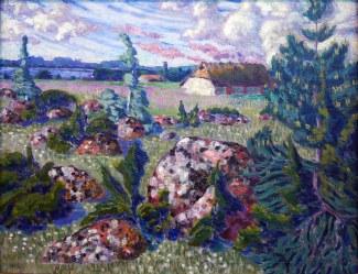 Konrad Mägi, Paesaggio di Saaremaa, 1913-14