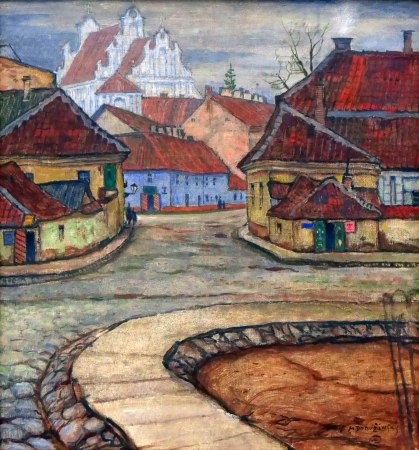 Mstislav Dobuzhinski, Via Tilto in Vilnius, 1907 ca