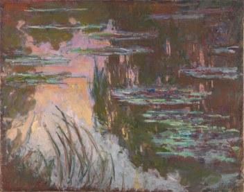 Claude Monet, Ninfee al tramonto, 1903