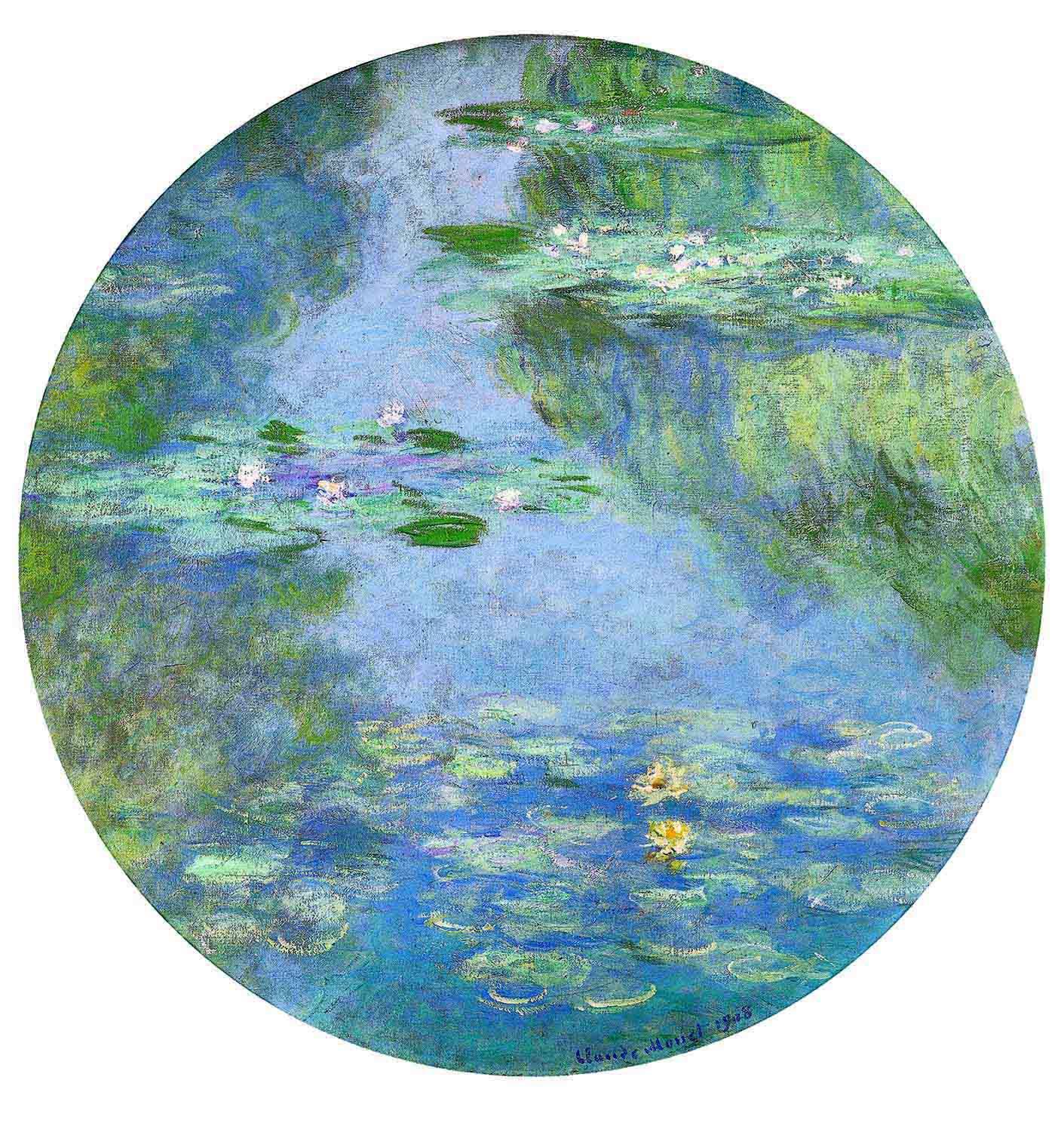 16 Claude Monet, Ninfee, 1908 – La sottile linea d'ombra