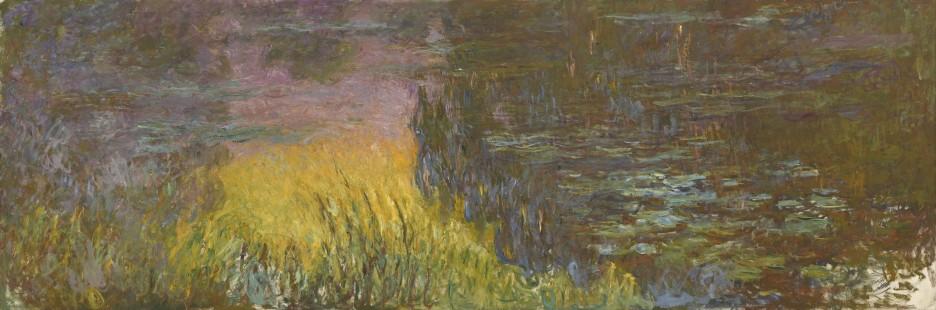 Claude Monet, Ninfee, tramonto, 1914-26