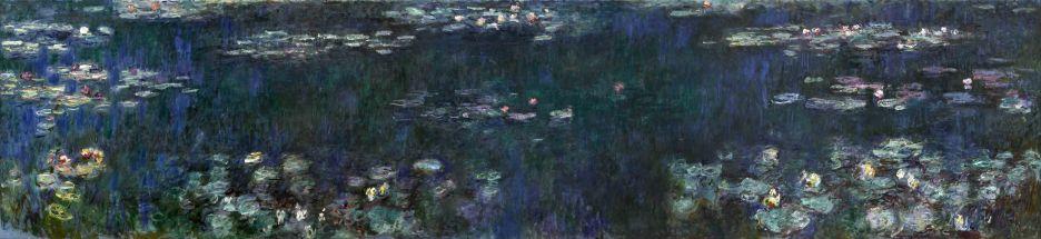 Claude Monet, Le ninfee, riflessi verdi, 1914-1926