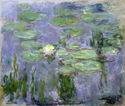 Claude Monet, Ninfee, 1915
