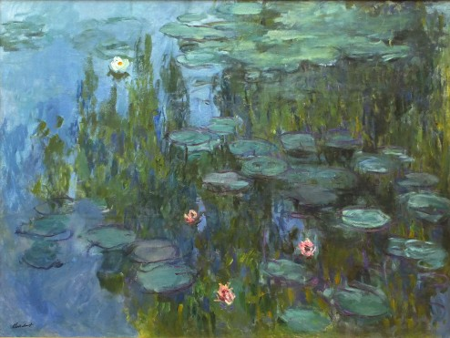 22 Claude Monet, Ninfee, 1915