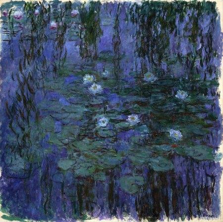 Claude Monet, Ninfee blu, 1916-19