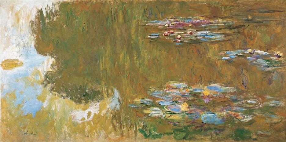 Claude Monet, Lo stagno delle ninfee, 1917-19