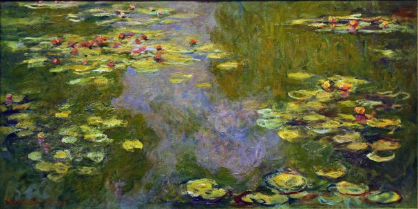 Claude Monet, Ninfee, 1919