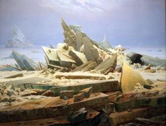 Caspar David Friedrich, Il mare di ghiaccio, 1823-24