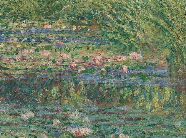 Claude Monet, Lo stagno delle ninfee, 1899 - particolare