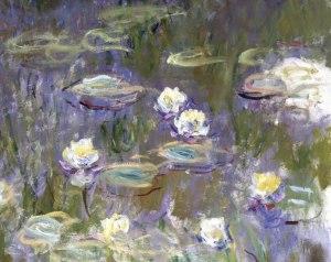 Claude Monet, Ninfee, 1922 - particolare