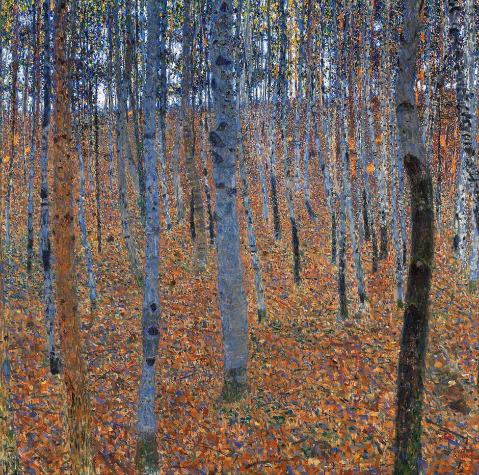 Gustav Klimt, Faggeto, 1902