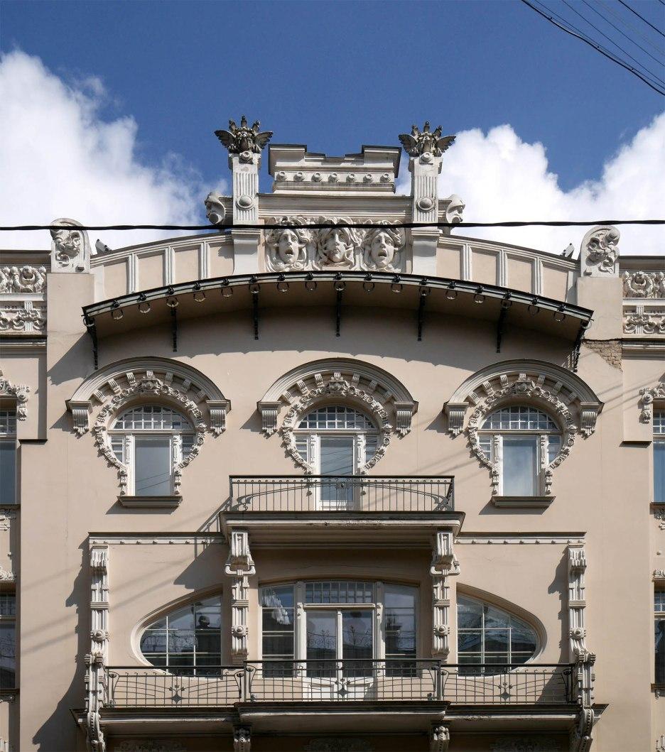 Michail Ėjzenštejn, Casa in Alberta iela 4, Riga