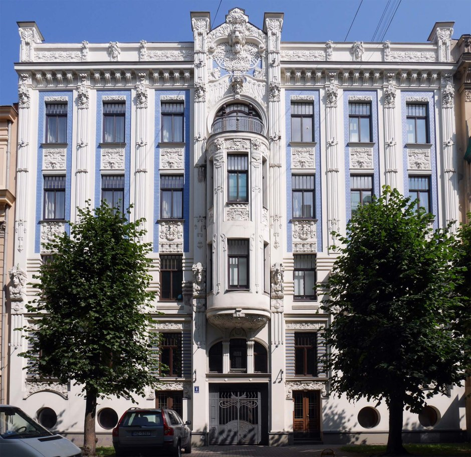 Michail Ėjzenštejn Casa in Alberta iela 4, Riga