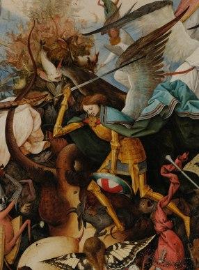 Pieter Bruegel il Vecchio-Caduta degli angeli ribelli part 1