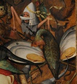 Pieter Bruegel il Vecchio-Caduta degli angeli ribelli part 10