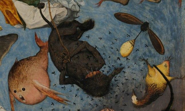 Pieter Bruegel il Vecchio-Caduta degli angeli ribelli part 2