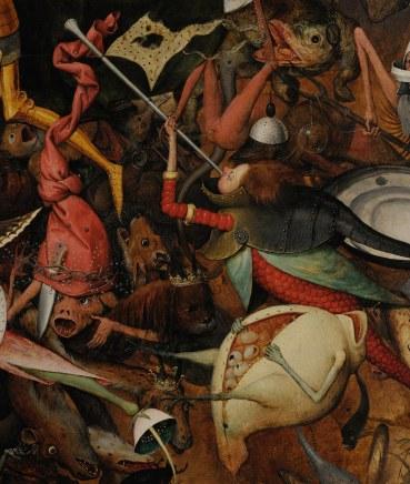 Pieter Bruegel il Vecchio-Caduta degli angeli ribelli part 3