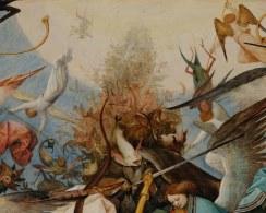 Pieter Bruegel il Vecchio-Caduta degli angeli ribelli part 4