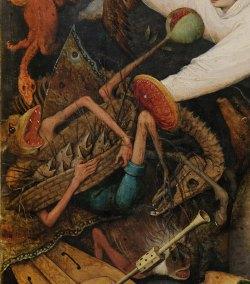 Pieter Bruegel il Vecchio-Caduta degli angeli ribelli part 7