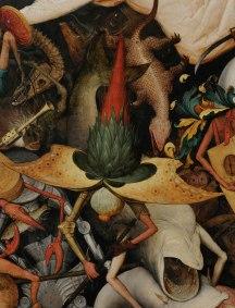 Pieter Bruegel il Vecchio-Caduta degli angeli ribelli part 9