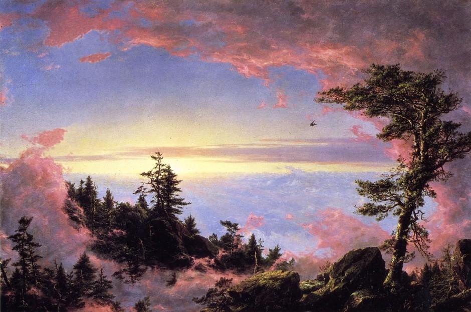 Frederic Edwin Church, Alba sopra le nuvole, 1859