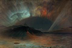 Frederic Edwin Church, Aurora boreale, 1865