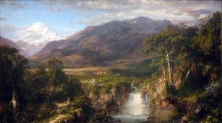 Frederic Edwin Church Cuore delle Ande quadro