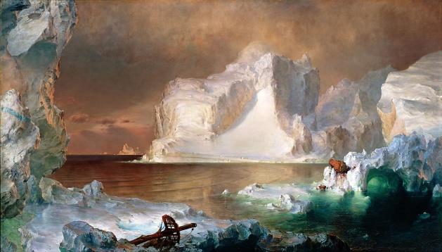 Frederic Edwin Church, Gli Icebergs, 1861