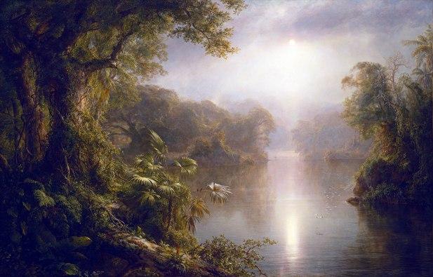 Frederic Edwin Church, Il Rio de Luz, 1877