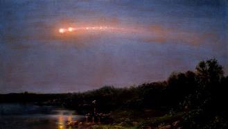 Frederic Edwin Church, La meteora del 1860, 1860
