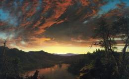 Frederic Edwin Church, Crepuscolo nella natura selvaggia, 1860